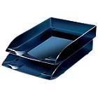 Office Depot Brievenbakje Blauw C4 Schok bestendig polystyreen 8,2 x 31 x 26,5 cm
