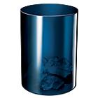 Office Depot Afvalbak Midnight Blue 16 L Schok bestendig polypropyleen Ø 26 x 33,7 cm