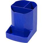 Exacompta 675101D Pennenbakje Mini Octo Kobaltblauw Polypropyleen 9 x 12,3 x 11,1 cm