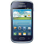 Samsung Mobiele telefoon Galaxy S6310N Young Blauw Blauw