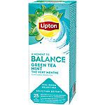 Lipton Thee Green Tea Mint 25 Zakjes