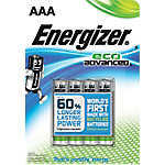 Energizer Batterijen Eco Advanced AAA Pak 4