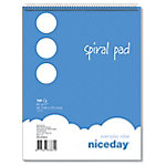 niceday Spiraalblok Headbound Blanco A5 5 x 100 Vel