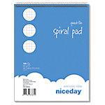 niceday Spiraalblok Headbound Geruit 5 x 5 mm A5 5 x 100 Vel