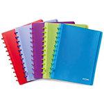 ATOMA Showalbum A4 Kleurenassortiment Voor A4 documenten   60 Hoezen