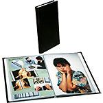 Rillstab Showalbum 434181 A4 Zwart PP 40 tassen, kristalhelder en anti reflecterend, niet statisch