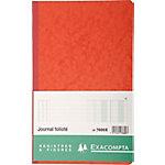 Exacompta 7600X Notitieboek Zwart Gelinieerd A4+   110 g