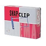 Jalema Clips SnapClip Blauw, wit 50 Stuks