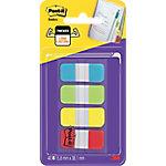 3M Index notes Lichtblauw, geel, fuchsia, paars 15,8 x 38,1 mm 4 x  10  Vel