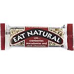 Eat Natural Mueslireep Pure Chocolade 12 Stuks