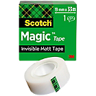 Scotch Magic™ tape 810 Matte tape 19 mm x 33 m