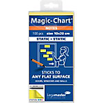 Legamaster Magic Chart Notitieblok 7 159405 Geel   100 Vel