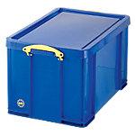Really Useful Boxes Transportbakken 84 l polypropyleen 44 x 71 x 38 cm Blauw Stuks