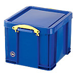 Really Useful Boxes Transportbakken polypropyleen 48 x 39 x 31 cm Blauw Stuks