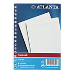 Atlanta Kasboek met spiraal Gelinieerd 10,3 x 14,7 cm 50 Vel