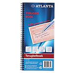 Atlanta Terugbelboek Nee 7,4 x 12,5 cm 70 g