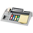 Post it C50 Desk organizer Zilvergrijs 2,5 x 1,6 x 0,6 cm