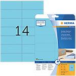 HERMA Special Multifunctionele etiketten Blauw 280 Stuks Pak 20