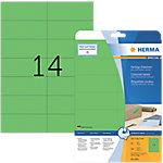 HERMA Special Multifunctionele etiketten Groen 105 x 42,3 mm 20 Vel 280 Stuks
