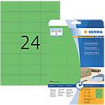 HERMA Special Multifunctionele etiketten Groen 480 Stuks Pak 20