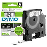 DYMO Labels D1 45013 Zwart op Wit 12 mm x 7 m