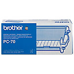 Brother Original PC 70 Zwart Inkt Cartridge + Donorrol