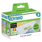 DYMO Etiketten Gekleurde adresetiketten 89 x 28 mm Geel, rood, blauw, groen 4 x 130 Stuk