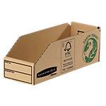 Fellowes Magazijnbakjes 07353EU 100% gerecycleerd karton 9,8 x 28 x 10,2 cm Bruin 50 Stuks