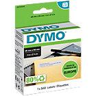 DYMO Etiketten LW11352 54 mm Wit 500 Stuks