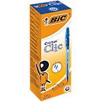 BIC Cristal® Clic Balpen 0,4 mm Blauw 20 Stuks
