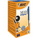 BIC M10 Balpen 0,4 mm Blauw 50 Stuks