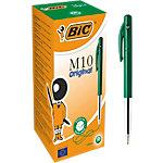 BIC M10 Balpen 0,4 mm Groen 50 Stuks
