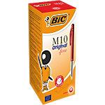 BIC M10 Balpen 0,4 mm Rood 50 Stuks