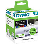 DYMO Adresetiketten 99112 89 x 36 mm Wit 2 x 260 Stuk