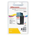 Office Depot Compatible HP 49 Inktcartridge 51649A Cyaan, Magenta, Geel