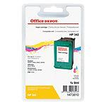 Office Depot Compatible HP 342 Inktcartridge C9361EE Cyaan, Magenta, Geel
