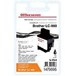 Office Depot Compatible Brother LC900BK Inktcartridge Zwart