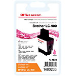 Office Depot Compatible Brother LC900M Inktcartridge Magenta