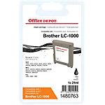 Office Depot Compatible Brother LC1000BK Inktcartridge Zwart