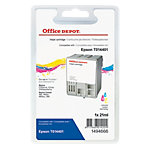Office Depot Compatible Epson T014 Inktcartridge T014401 Cyaan, Magenta, Geel