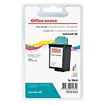Office Depot Compatible Lexmark 60 Inktcartridge Cyaan, Magenta, Geel