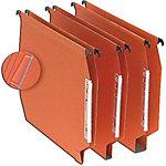 niceday Hangmap A4 Oranje Gerecyleerd karton U bodem 15 mm 27,5 x 32,8 cm 25 Stuks