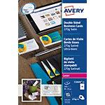 Avery C32026 25 Visitekaartjes Extra glad 270 g
