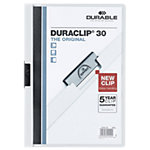 Durable Klemmap Duraclip A4 Wit PP Folie 3 mm rug