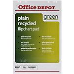 Office Depot Gerecyclede Flipoverblokken 65 x 98 cm Blanco 70 g