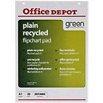 Office Depot Gerecyclede Flipoverblokken A1 Blanco 70 g
