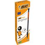 BIC Matic Vulpotlood HB   0,7 mm met gum Grijs 12 Stuks