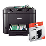 Canon Printer 4 in 1 MAXIFY MB5350 inclusief Canon inkejcartridge PGI 2500 XL Zwart