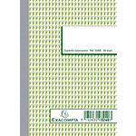 Exacompta Zelfkopiërend orderboek Wit Geruit 5 x 5 mm A6 105 x 148 mm 50 Vel