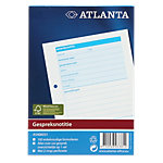 Atlanta Gespreksnotities Wit A6 105  x 148 mm 70 g
